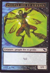 Tokens Magic Magic the Gathering Token/Jeton - Sombrelande - Peuple Fée Et Gredin