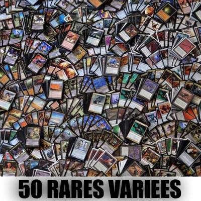 Lot de Cartes Lot de 50 rares variées , (lot A)