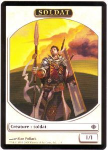 Tokens Magic Accessoires Pour Cartes Token/Jeton - Eclats D'alara - Soldat