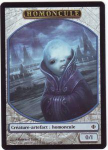 Tokens Magic Accessoires Pour Cartes Token/Jeton - Eclats d'Alara - Homoncule