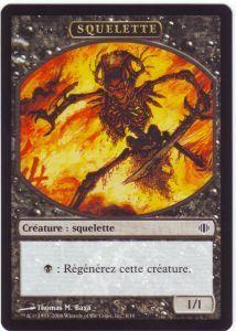Tokens Magic Accessoires Pour Cartes Token/Jeton - Eclats d'Alara - Squelette