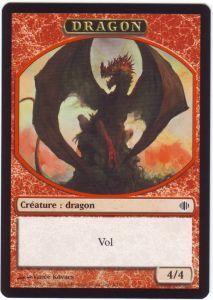 Tokens Magic Accessoires Pour Cartes Token/Jeton - Eclats d'Alara - Dragon