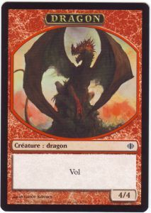 Tokens Magic Magic the Gathering Token/Jeton - Eclats d'Alara - Dragon