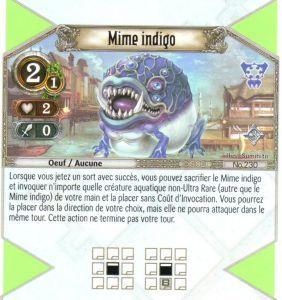 The Eye of Judgment Autres jeux de cartes 230 - Mime indigo [Biolith Rebellion 3  - Cartes The Eye of judgment]