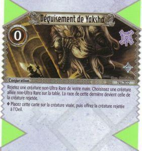 The Eye of Judgment Autres jeux de cartes 302 - Déguisement de Yaksha [Biolith Rebellion 3  - Cartes The Eye of judgment]