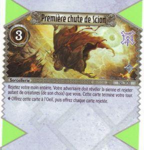 The Eye of Judgment Autres jeux de cartes 308 - Première chute de Scion [Biolith Rebellion 3  - Cartes The Eye of judgment]