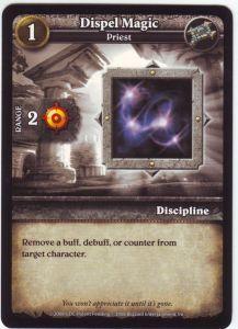 WoW Minis - Cartes à l'unité [Core Set] 26 - Dispel Magic [Cartes WOW miniatures]