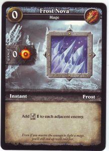 WoW Minis - Cartes à l'unité [Core Set] 16 - Frost Nova [Cartes WOW miniatures]