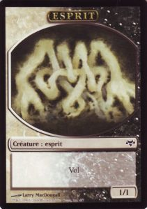 Tokens Magic Magic the Gathering Token/Jeton - Coucheciel - Esprit