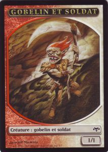 Tokens Magic Magic the Gathering Token/Jeton - Coucheciel - Gobelin Et Soldat