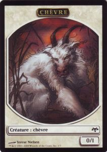 Tokens Magic Magic the Gathering Token/Jeton - Coucheciel - Chèvre