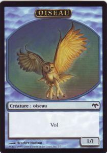 Tokens Magic Magic the Gathering Token/Jeton - Coucheciel - Oiseau