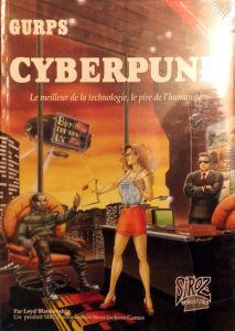 Jeux de rôle VF Jeux de rôle JDR: Gurps Cyberpunk - Le meilleur de la technologie le pire de l'humanité