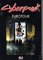 Jeux de rôle VF Jeux de rôle JDR: Cyberpunk - Eurotour