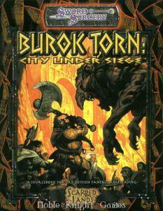 Jeux de rôle VO Jeux de rôle RPG: Sword sorcery - Burok torn : City Under Siege