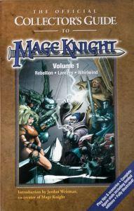 Jeux de rôle VO Jeux de rôle RPG: Mageknight Collector's guide Vol 1 (Rebellion - Lancers - Whirlwind)