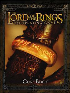Jeux de rôle VO Jeux de rôle RPG: Lord of the Rings - Core Book