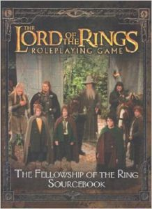 Jeux de rôle VO Jeux de rôle RPG: Lord of the Ring - The Fellowship of the Ring Sourcebook