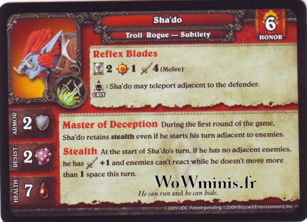 WoW Minis - Figurines à l'unité [Spoils of War] 30 - Sha'do [Figurines WOW minis: Spoils of War]