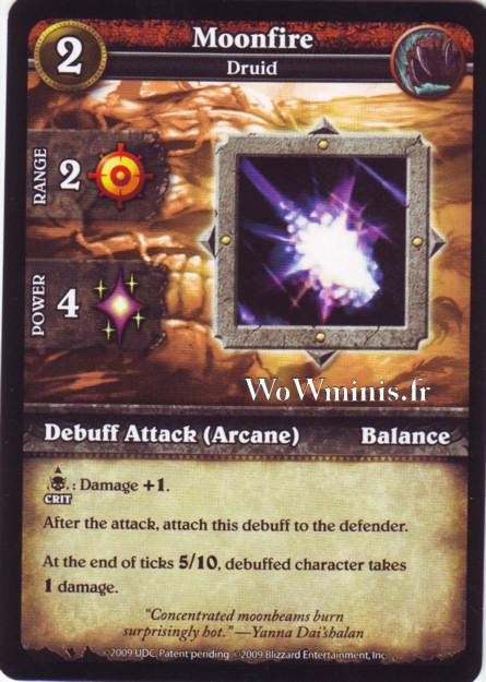 WoW Minis - Cartes à l'unité [Spoils of War] WoW Miniatures Game 41 - Moonfire[Cartes WOW minis: Spoils of War]