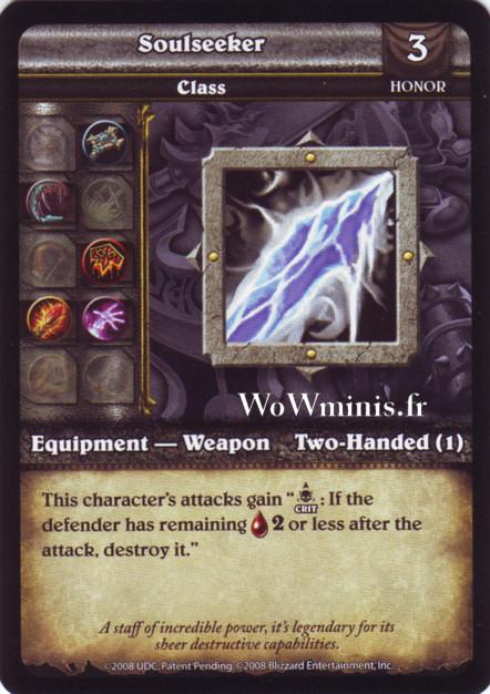 WoW Minis - Cartes à l'unité [Spoils of War] WoW Miniatures Game 66 - Soulseeker[Cartes WOW minis: Spoils of War]