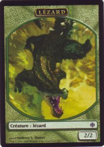 Tokens Magic Magic the Gathering Token/Jeton - Renaissance D'alara - Lézard