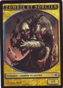 Tokens Magic Accessoires Pour Cartes Token/jeton - Renaissance D'alara - Zombie Et Sorcier