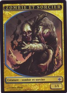Tokens Magic Magic the Gathering Token/jeton - Renaissance D'alara - Zombie Et Sorcier