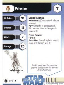 Star Wars Miniatures - Jedi Academy Star Wars Miniatures 32 - Felucian [Star Wars Miniatures - Jedi Academy]