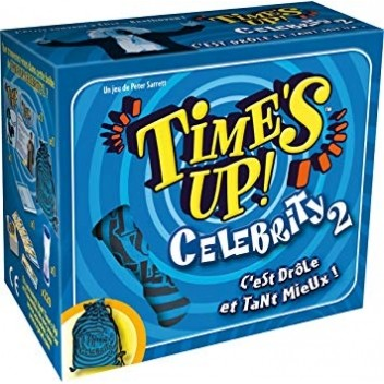 Time's up Petits Jeux Time's Up! Celebrity 2 - Bleu