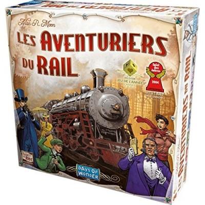 Thème : Véhicules Jeux de Plateau Les Aventuriers Du Rail