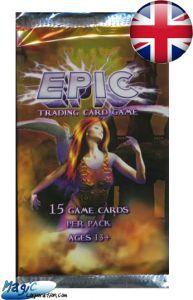 Epic Autres jeux de cartes Booster EPIC - 1ère Edition - (EN ANGLAIS)