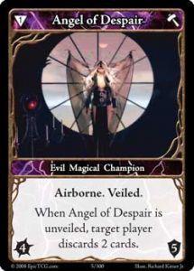 Epic Autres jeux de cartes 005 - Angel of Despair [Set 1 - Cartes Epic]
