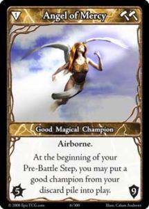 Epic Autres jeux de cartes 006 - Angel of Mercy [Set 1 - Cartes Epic]