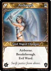 Epic Autres jeux de cartes 009 - Archangel [Set 1 - Cartes Epic]