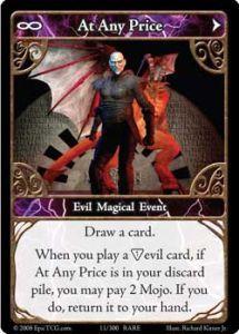 Epic Autres jeux de cartes 011 - At Any Price [Set 1 - Cartes Epic]
