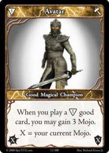 Epic Autres jeux de cartes 012 - Avatar [Set 1 - Cartes Epic]