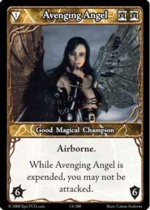 Epic Autres jeux de cartes 013 - Avenging Angel [Set 1 - Cartes Epic]