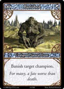 Epic Autres jeux de cartes 014 - Banished [Set 1 - Cartes Epic]