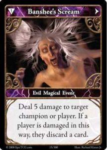 Epic Autres jeux de cartes 015 - Banshee's Scream [Set 1 - Cartes Epic]