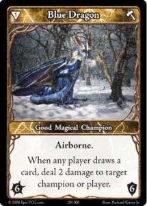 Epic Autres jeux de cartes 020 - Blue Dragon [Set 1 - Cartes Epic]