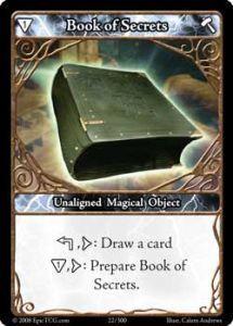 Epic 022 - Book of Secrets [Set 1 - Cartes Epic]