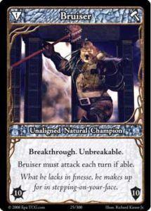 Epic Autres jeux de cartes 025 - Bruiser [Set 1 - Cartes Epic]