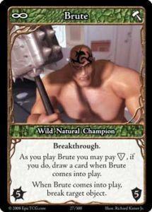 Epic Autres jeux de cartes 027 - Brute [Set 1 - Cartes Epic]