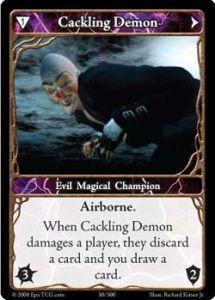 Epic Autres jeux de cartes 030 - Cackling Demon [Set 1 - Cartes Epic]