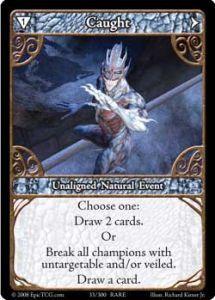 Epic Autres jeux de cartes 033 - Caught [Set 1 - Cartes Epic]