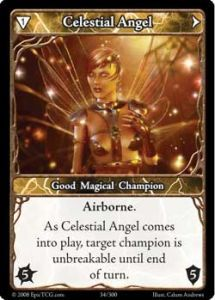 Epic Autres jeux de cartes 034 - Celestial Angel [Set 1 - Cartes Epic]
