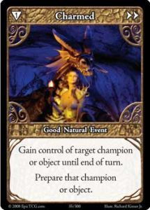 Epic Autres jeux de cartes 035 - Charmed [Set 1 - Cartes Epic]