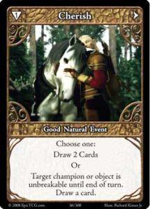 Epic Autres jeux de cartes 036 - Cherish [Set 1 - Cartes Epic]