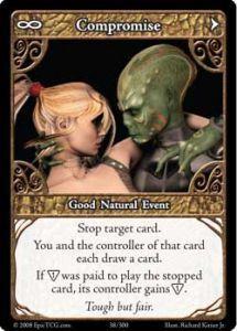 Epic Autres jeux de cartes 038 - Compromise [Set 1 - Cartes Epic]